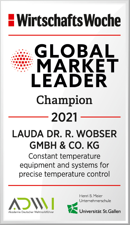 Seal of the world market leader